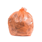 Orange Trash Bags