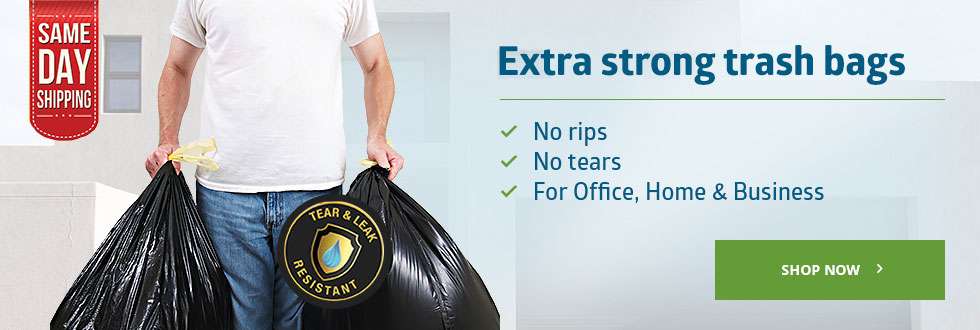 Extra strong trash bags